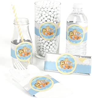 Noah's Ark - DIY Party Supplies - Baby Shower or Birthday Party DIY Wrapper Favors & Decorations - Set of 15