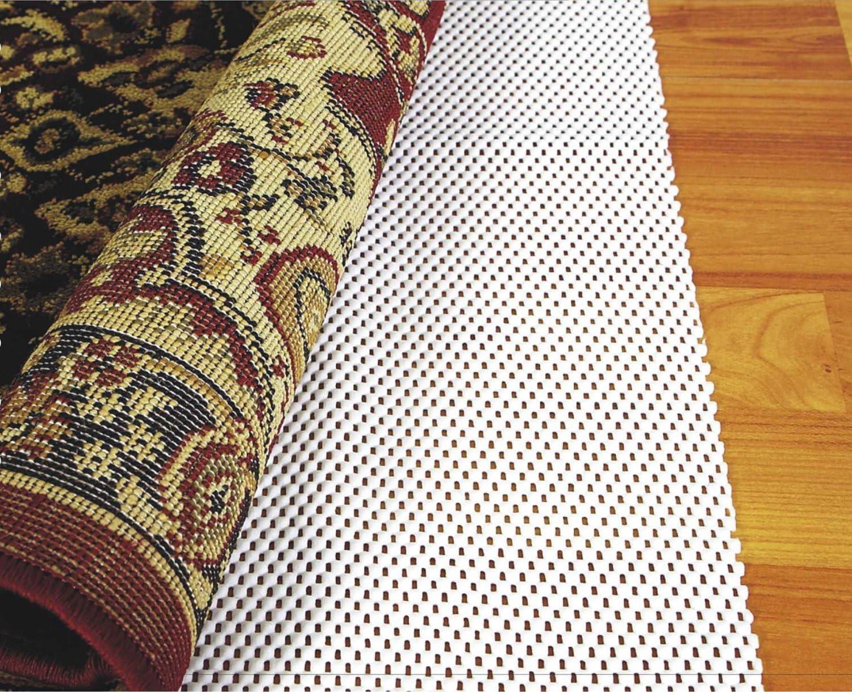 Washable Padding Grips Non Slip Abahub Anti Slip Rug Pad 3 x 5 for Under Area Rugs Carpets Runners Doormats on Wood Hardwood Floors