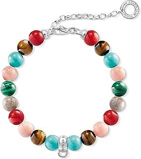 Bijoux Faits Main Bracelet pour Couple AITU Bracelet Bracelet Chakra Bracelet Multicolore avec Perles de Pierre Naturelle