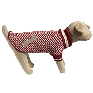 Eco Pet Recycled Cotton Dog Sweater - Large/Red