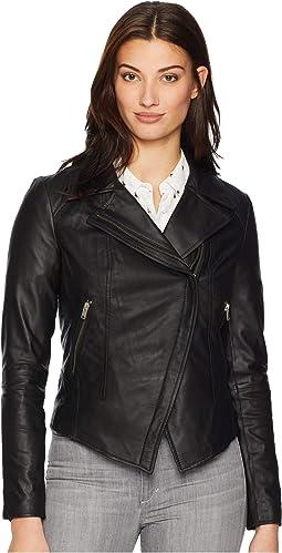 Bayside Leather Scuba Jacket