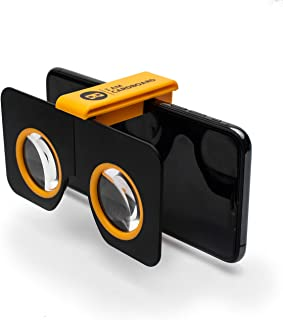 I Am Cardboard Pocket 360 Mini VR Viewer | The Best Google Cardboard Virtual Reality Glasses | Google Cardboard v2 Inspired | Small and Unique Travel Gift Under 20 Dollars