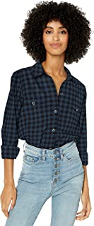 Amazon Brand - Goodthreads Women's Brushed Twill Long-Sleeve Utility Shirt