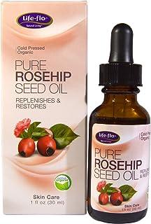 Life Flo Health Pure Rosehip Seed Oil Skin Care 1 oz (30 ml)