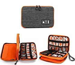 Electronics Organizer, Jelly Comb Electronic Accessories Cable Organizer Bag Waterproof Travel Cable Storage Bag for Charg...