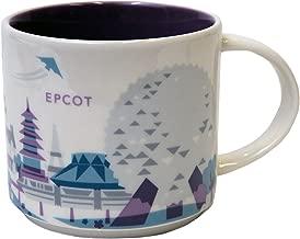 Starbucks Epcot You Are Here Collection Coffee Mug Version 2