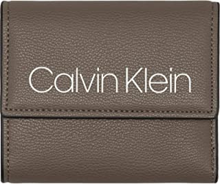 CALVIN KLEIN COLLEGIC MEDIUM TRIFOLD  for MEN-BROWN