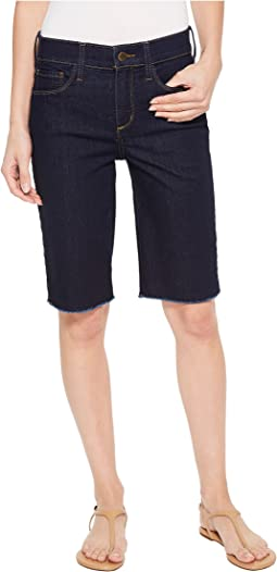 Briella Shorts w/ Fray Hem in Rinse