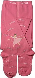 Weri Spezials Kinderstrumpfhosen fuer Mädchen in Rosa. Balett - eine wunderschoene Teanzerin!
