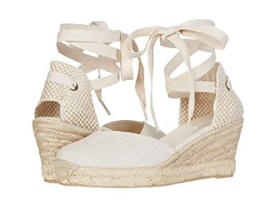 Soludos Lyon Wedge Espadrille (Blush) Women