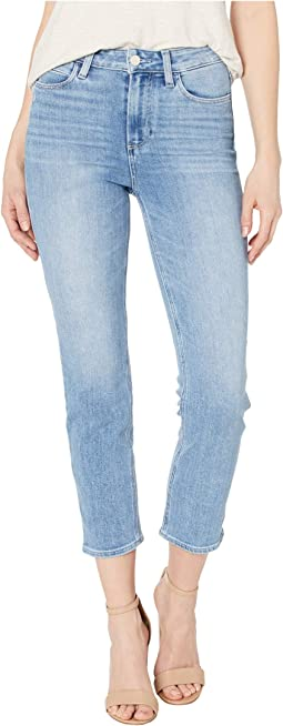 Hoxton Slim Crop w/ Linear Coin Pocket Jeans in Lo-Fi Distressed