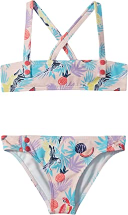 Roxy Kids - Vintage Tropical Bandeau Set (Toddler/Little Kids)