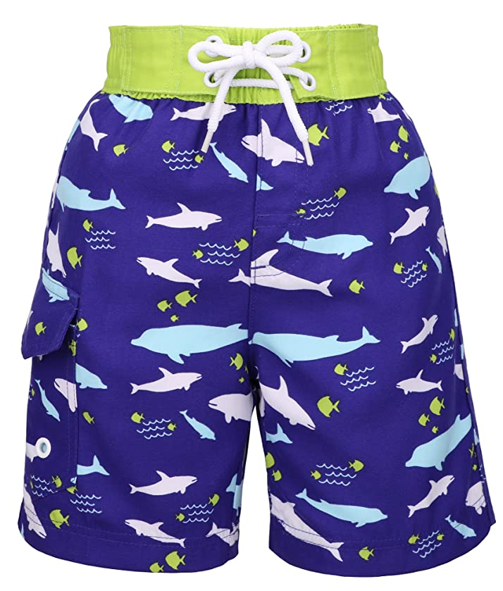 Lullaby Toddler Kids Boys Fast Drying Summer Swim Trunks Surf Board Shorts