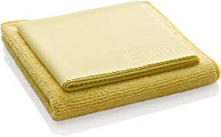 e-cloth Bathroom Pack-2 Microfiber Cleaning Cloths, Combo, Yellow, 2 Count