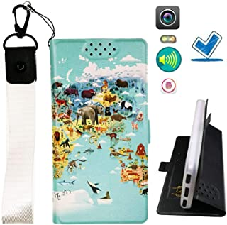 Lovewlb Case for Blu Vivo Go V2.0 Cover Flip PU Leather + Silicone Ring case Fixed DT