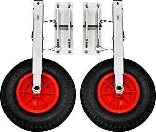 Newport Vessels Inflatable Boat Transom Launch Wheels