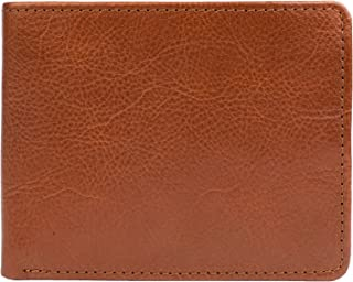 Hidesign Bifold Wallet For Men - Flap Wallets, Genuine Leather, Tan