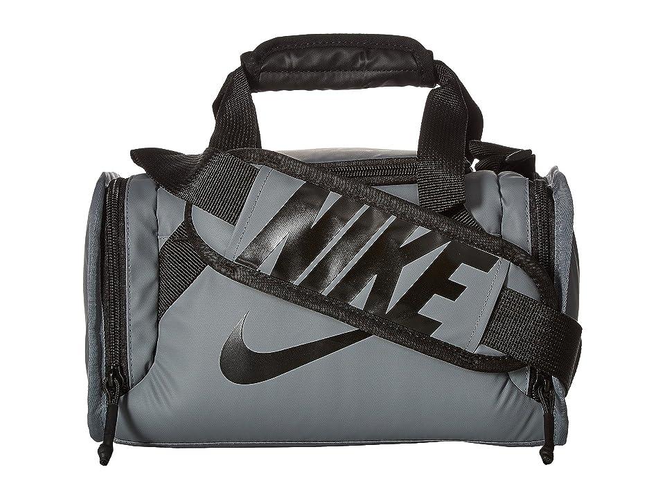 Nike Kids Brasilia Insulated Medium Duffel (Cool Gray) Duffel Bags