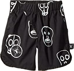 Nununu Skull Mask Surf Shorts (Infant/Toddler/Little Kids)
