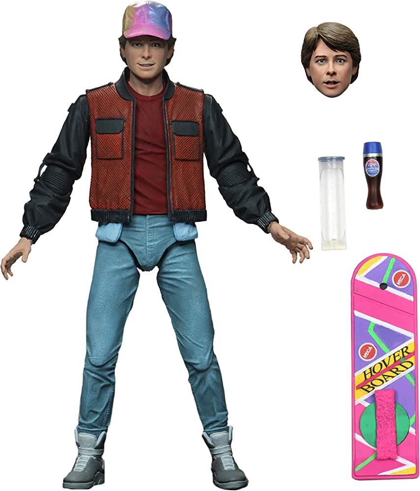 Neca - back to the future marty mcfly ultimate 7 action figure , 10,7 cm x 19,8 cm x 40,3 cm NECA53610