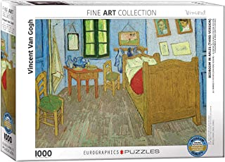"""Eurographics""""Vincent The bedroom of Van Gogh At Arles"""" Puzzle (1000-Piece, Multi-Colour)"""