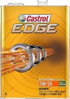 カストロール エンジンオイル EDGE 5W-50 4L 4輪ガソリン/ディーゼル車両用全合成油 SN Castrol