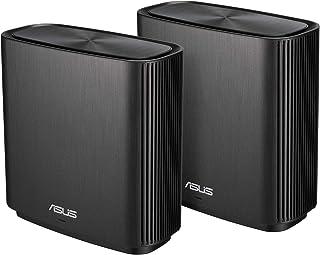زين واي فاي ايه سي (CT8) - AC3000 نظام واي فاي شبكي ثلاثي الموجات للمنزل بالكامل