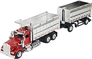 New Ray Toys 1/43 D/C Kenworth W900 Double Dump Truck