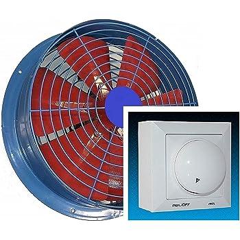 600mm Ventilador industrial con 500W REGULADOR de Velocidad ...