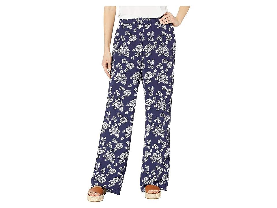 MICHAEL Michael Kors Tossed Lace PJ Pants (True Navy/White) Women