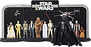 Disney Star Wars Black Series 40th Anniversary Collection - Black, 6 Inch Darth Vader Figure With Decorative Backcard and Display Stand