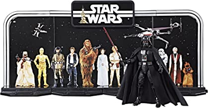 Disney Star Wars Black Series 40th Anniversary Collection - Black, 6 Inch Darth Vader Figure With Decorative Backcard and ...