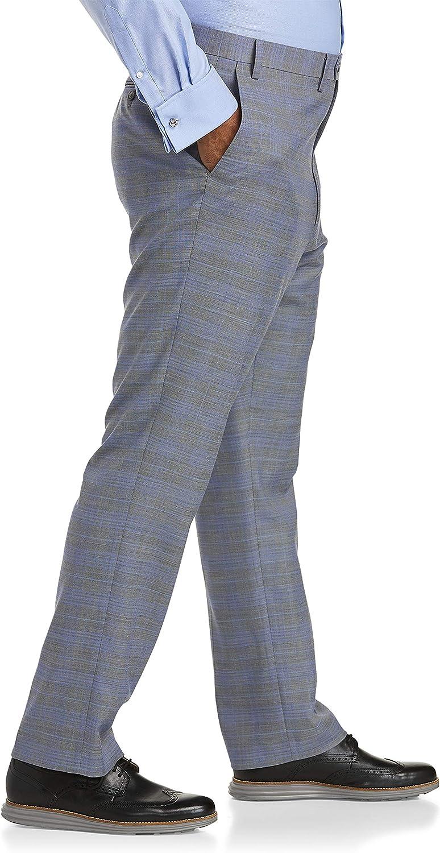 Tallia Plaid Suit Pants, Grey