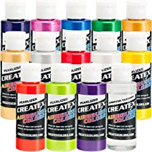 14 Pearlized/Pearl CREATEX AIRBRUSH PAINT COLORS SET