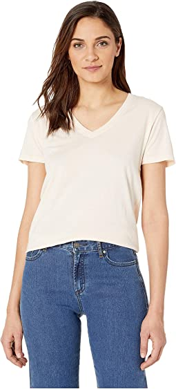 Solid Perfect V-Neck Tee Shirt