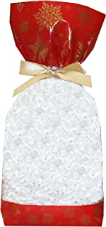 Block Bottom Clear Cellophane Christmas Sweet Gift Bags