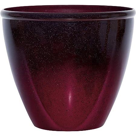Orange Ombre Footed Vase Planter
