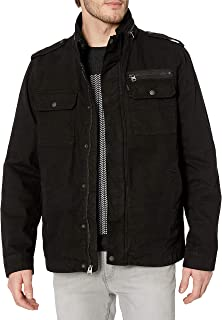 Levi's Men's Cotton Stand Collar Military Jacket
