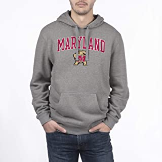 Top of the World NCAA Men's Hoodie Sweatshirt Dark Charcoal Gray
