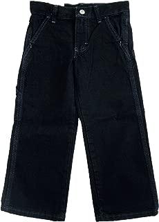 Wrangler Boys' Classic Carpenter Jeans, Black (4 reg)
