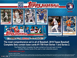 2019 Topps Baseball Factory Sealed Retail Complete Set - Baseball Wax Packs