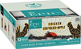 Epic Chicken Apple & Egg bar, 12Count