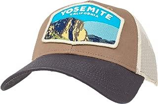 US National Park Barley 2 Slouch Mesh Adjustable Snapback Hat