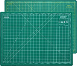 ZERRO Professional Self-Healing Cutting Mat Double Sided Thick 5-Ply with Imperial/Metric..