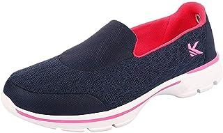KazarMax Women's Navy & Pink Slipon's Walking Sneaker/Shoes