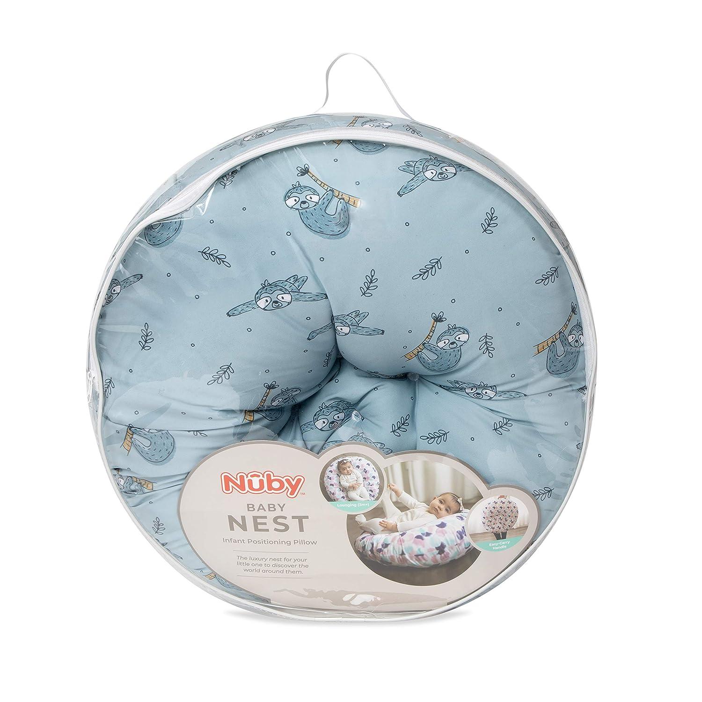 Nuby Dr. Talbot's Baby Nest, Infant Lounger, Sloth Print