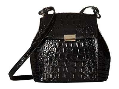Brahmin Margo (Black) Handbags