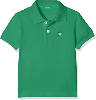 United Colors of Benetton Benetton Logo Pike Polo Tişört Erkek çocuk Polo Yaka T-Shirt