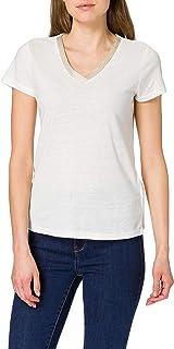 Morgan T Shirt Dore Camiseta para Mujer