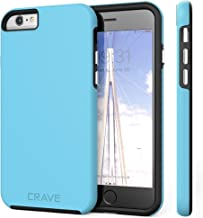 iPhone 6 Case, iPhone 6S Case, Crave Dual Guard Protection Series Case for iPhone 6 6s (4.7 Inch) - Sky Blue